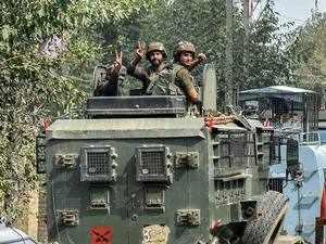 Srinagar encounter: Three terrorists gunned down, policeman killed