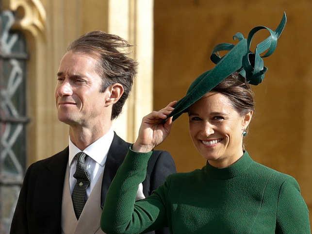 Pippa Middleton, husband James Matthews welcome baby boy