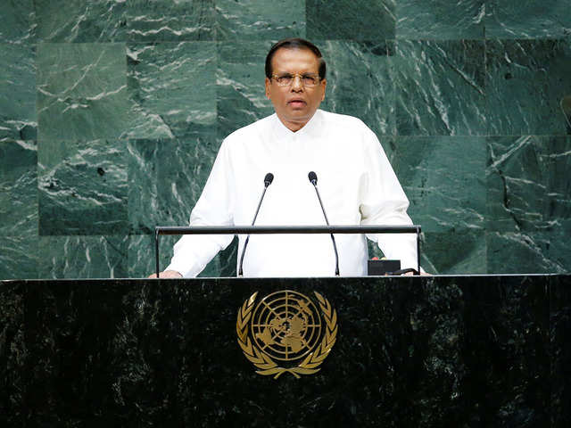 Reports of India planning attack on me false: Sirisena