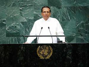 Lanka government rejects reports on President Sirisena's assassination plot