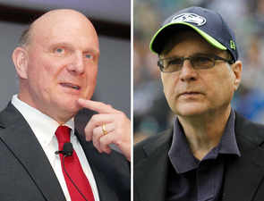 They had their differences, but Paul Allen was friend and mentor to Steve Ballmer