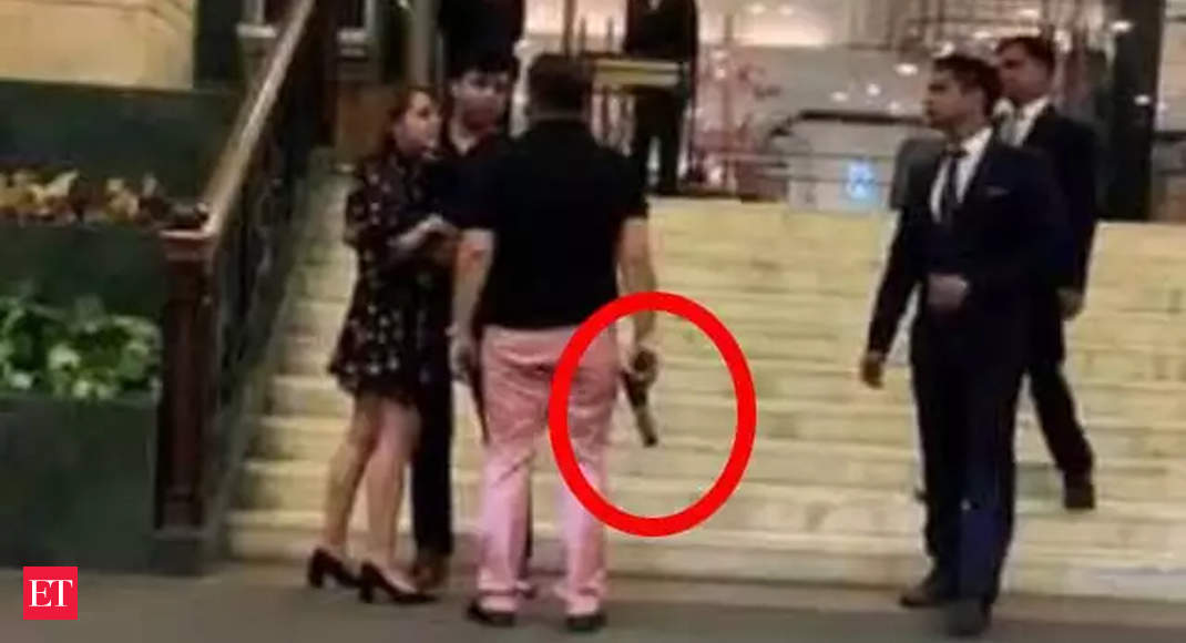 Ex-BSP MP's son who brandished gun at 5-star hotel sent to 1-day police custody thumbnail