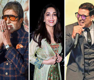 Big B, Madhuri Dixit, Akshay Kumar greet fans on Dussehra; wish for victory of good over evil