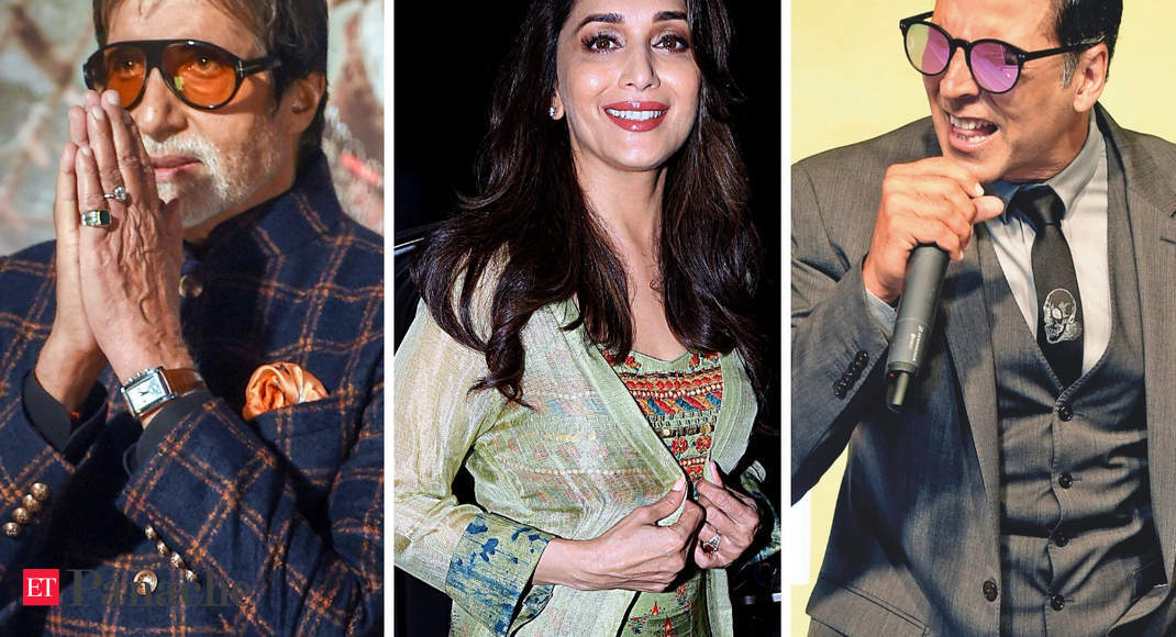 Big B, Madhuri Dixit, Akshay Kumar greet fans on Dussehra; wish for victory of good over evil thumbnail