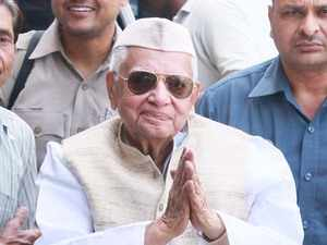 Former UP, U'khand CM ND Tiwari passes away aged 93