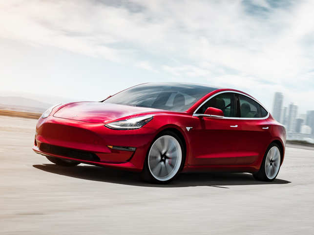 Tesla launches new 'Model 3' with mid-range battery