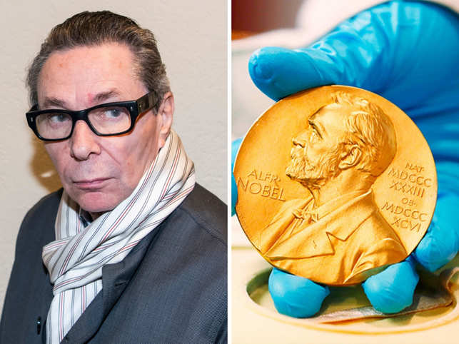 This year's Nobel in Literature was cancelled after Jean-Claude Arnault, a French photographer and the husband of a member of the Swedish Academy, was convicted of rape. A look at other times a scandal rocked the coveted award.(In Pic: Jean-Claude Arnault on the left, and the seal of the Nobel Prize on the right.)