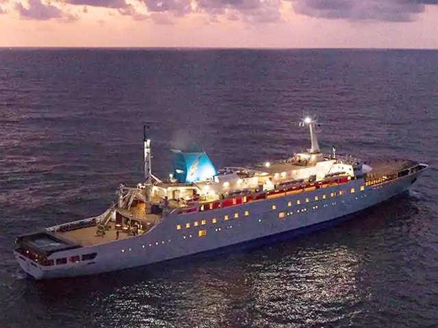 Angriya: India's first luxury cruise ship from Mumbai to Goa
