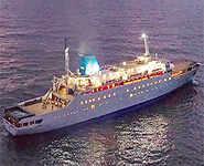 Angriya: India's first luxury cruise ship