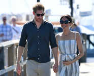 Royal couple's getaway down under