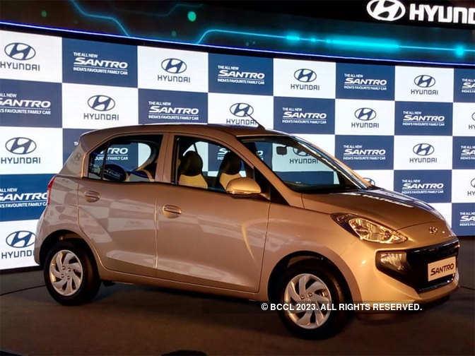 Santro price: Hyundai Motor launches Santro in India at a price of