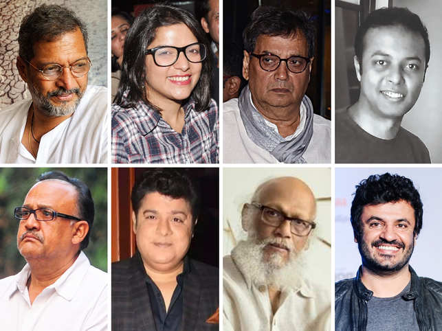 2018 saw the rise of the #MeToo movement in India. Inspired by a global campaign against sexual harassment and assault, women across the spectrum opened up and shared their stories about abuse by men in positions of power. And it began in October with actress Tanushree Dutta accusing actor Nana Patekar of sexual harassment while shooting for the 2008 film 'Horn Ok Please'.What followed was a series of posts by other women who shared their experiences with the world. From actors, film directors to advertising top guns, artists and writers and politicians, women professionals called out obnoxious behaviour at the workplace. From unwanted attention in the office to sexual innuendos on the film set, there were many kinds of allegations that surfaced.While some of these are still struggling in the industry amidst the allegations, some succeeded in getting a clean chit from authorities. Recently, rumours surfaced that Patekar has been given a clean chit. However, the 'Aashiq Banaya Aapne' actress quashed the rumours. However, director Vikas Bahl, who was one of the prime accusees, has been set free from all charges against him. The internal complaints committee of Reliance Entertainment, today, set the 'Queen' director free, who was accused by an employee of Phantom films under the #MeToo movement.(In Pic: From top left, Nana Patekar, Aditi Mittal, Subhash Ghai, Anirban Das Blah. From bottom left, Alok Nath, Sajid Khan, Jatin Das, Vikas Bahl)
