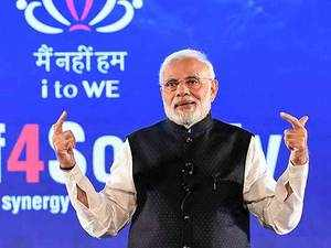 PM Modi interacts with IT professionals, appeals to join for social causes