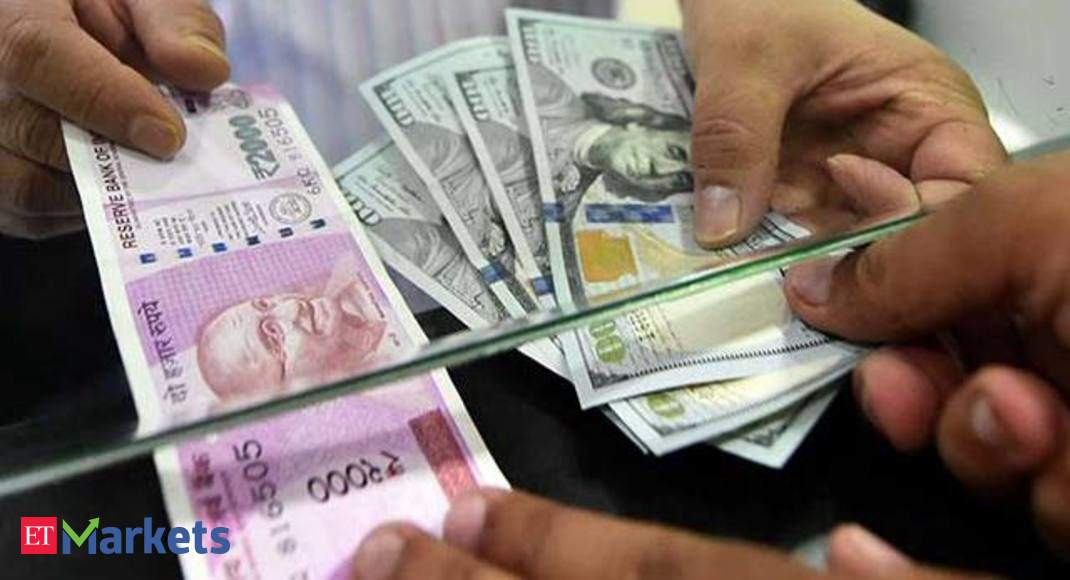 Inr Vs Dollar Ru Hits 3 Week High Jumps 41 Paise To 73 16