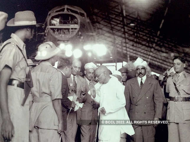 Governor General of India C Rajagopalachari visits HAL in 1948.