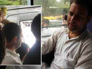 Rahul Gandhi courts arrest in protest against govt's move to divest CBI chief