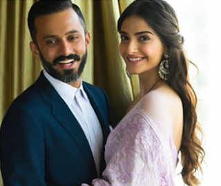 Sonam Kapoor, Anand Ahuja give couple goals on first Karwachauth