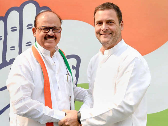 Tariq Anwar: Homecoming: Tariq Anwar turns back to Congress via NCP