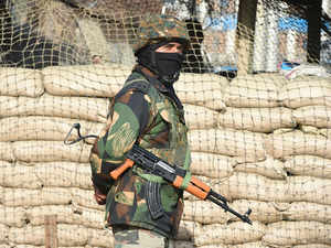 kashmir news four highly trained snipers active in kashmir
