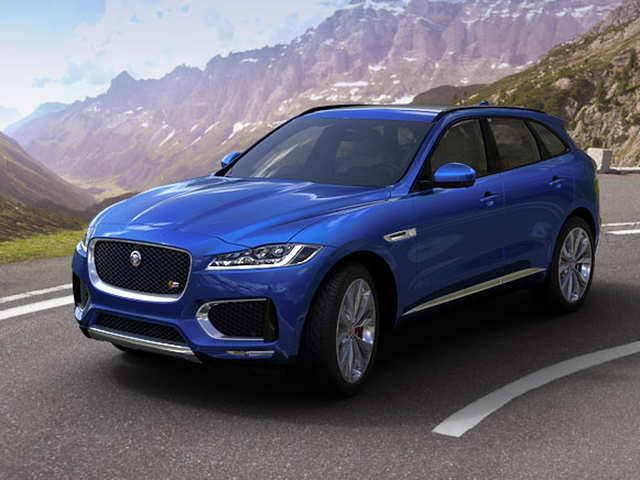 JLR wheels in petrol version of SUV F-PACE in India at Rs 63.17 lakh