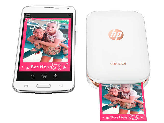 Hp Unveils Pocket Sized Printer Sprocket Plus At Rs 8999 For