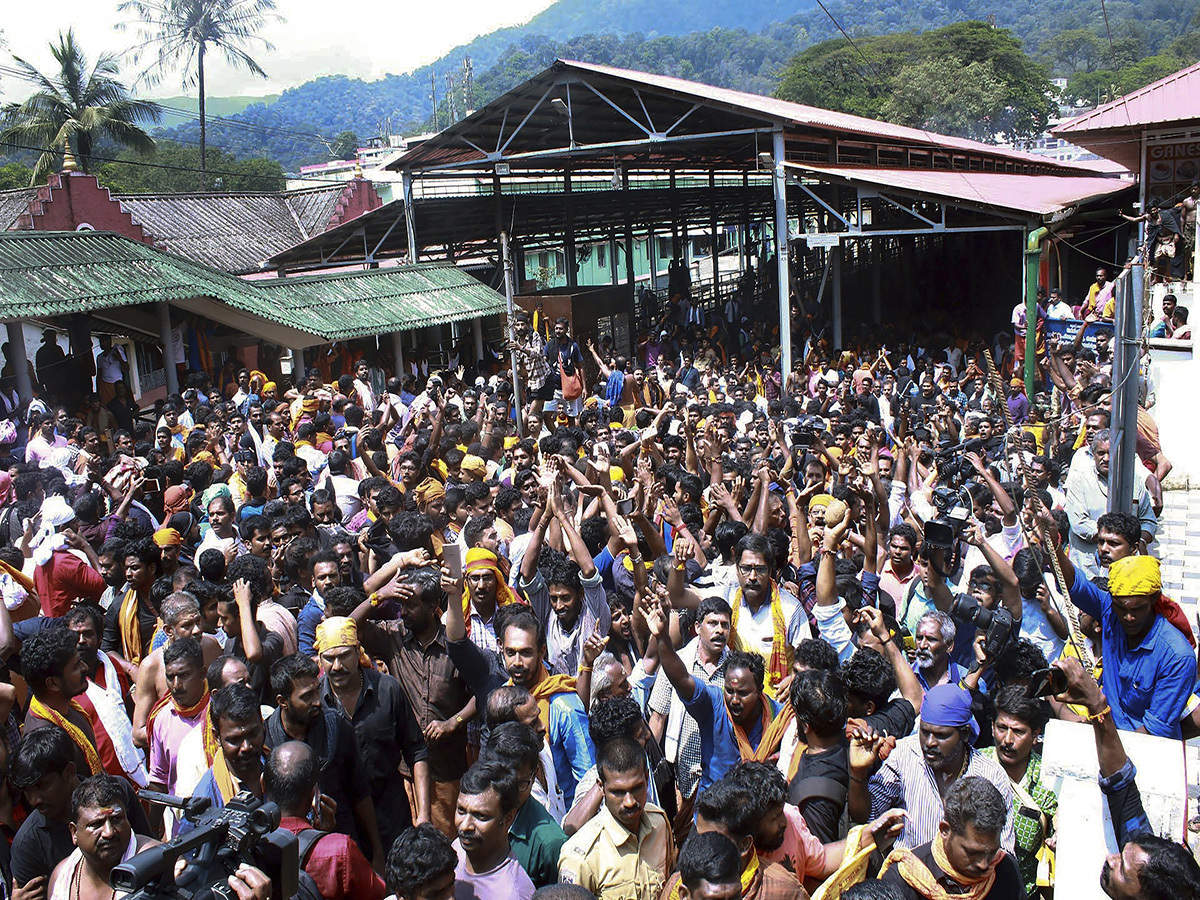 Sabarimala protest: Number of persons arrested crosses 3,000