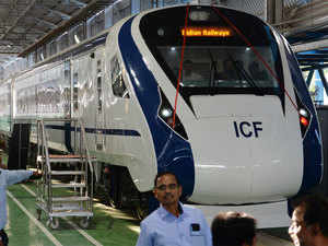 Train 18: Country\'s first engine-less train rolled out; Train 20 ...