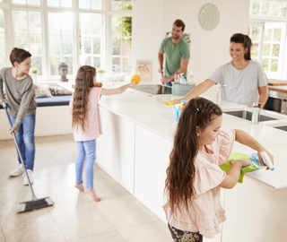 Busy cleaning home this Diwali? It's the best way to bond with family