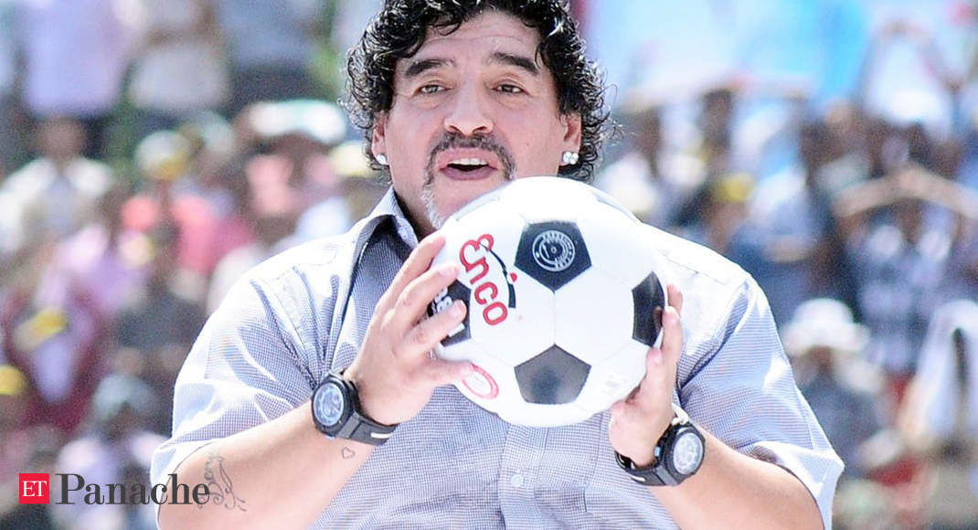 Maradona Diego Maradona May Be A Legend On The Field But Controversies Are His Thing Off It The Economic Times