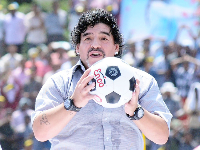 maradona: Diego Maradona may be a legend on the field, but controversies are his thing off it - The Economic Times