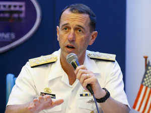 """U.S Navy chief says U.S, China to """"meet more and more on high seas"""""""