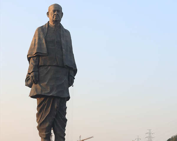 Sardar Patel's Statue of Unity, World's Tallest Statue to be unveiled on  31st Oct, 2018