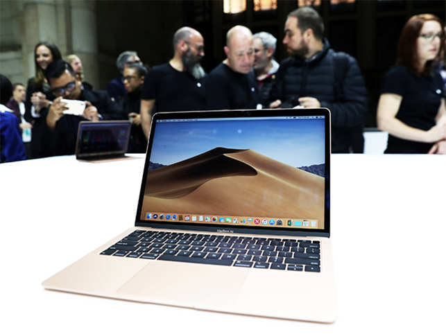 Seven years after it first introduced the MacBook Air, Apple has given the device a major upgrade. The new version of the MacBook Air now comes with a Retina display and TouchID.  Weighing 2.75 pounds, it has 8GB memory and 128GB of internal storage, a 13.3-inch screen, two USB-C ports, and a 3.5mm headphone jack. It is powered by Apple's secure computing chip, T2.  It is the most-affordable Mac, and comes in three finishes – black, grey and gold. Priced at $1199, it can be ordered starting today and will be available next week.  The Cupertino-based tech giant is also going green with the new MacBook Air that is made of 100% recycled aluminum.  (Image: Reuters)