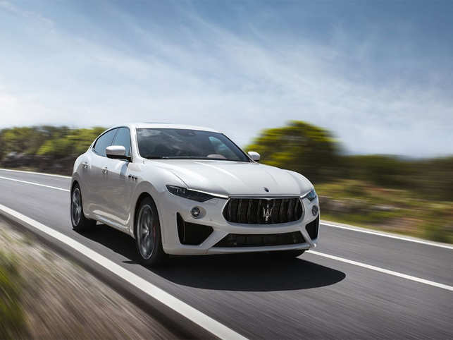 maserati's elegantly powerful levante gts makes the $120,000 tag