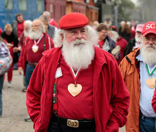 Getting ready for Christmas: The 'Harvard' of Santa Claus schools that teaches tricks of the trade