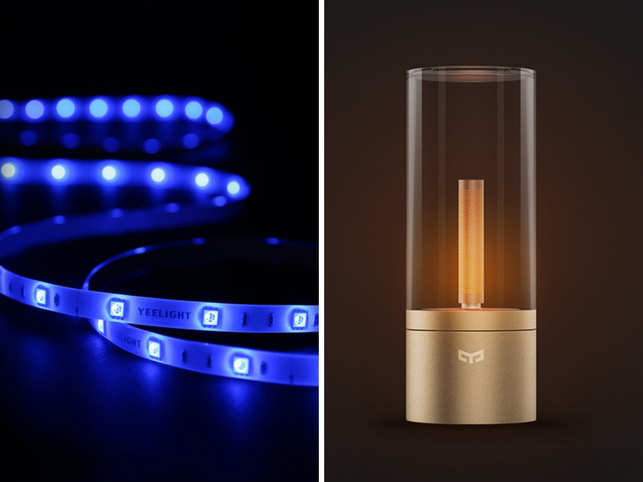 Yeelight Aurora Lightstrip Candela Lamp Well Priced Smart