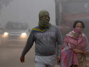 pleasant morning in delhi minimum temperature at 16 degree celsius