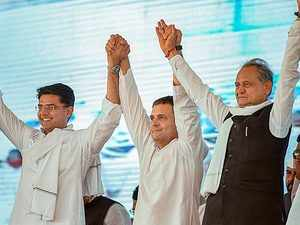 Congress likely to win Rajasthan assembly elections: Times Now-CNX Survey