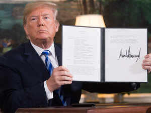 Trump's ban on Iran comes into force; US dodges question on commitment from India, China