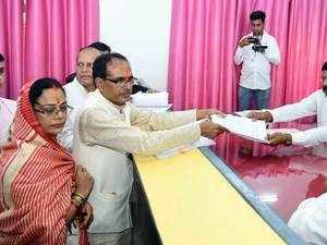 Madhya Pradesh: Shivraj Singh Chouhan files nomination from Budhni