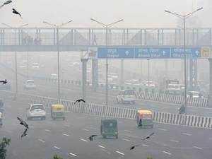 Delhi chokes on the eve of Diwali