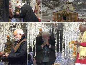 Watch: PM Modi visits Kedarnath shrine, offers prayers