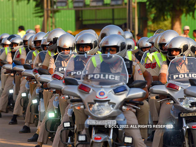 Delhi Police gets new patrol motorcycles to fight crime