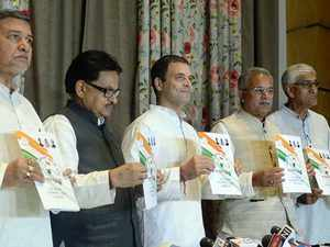 Chhattisgarh assembly elections: Rahul Gandhi releases Congress' 9 points manifesto