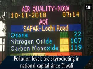 No relief from pollution for Delhiites