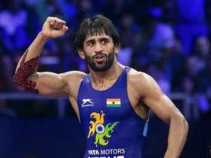 Bajrang Punia becomes number one in world in 65kg - The