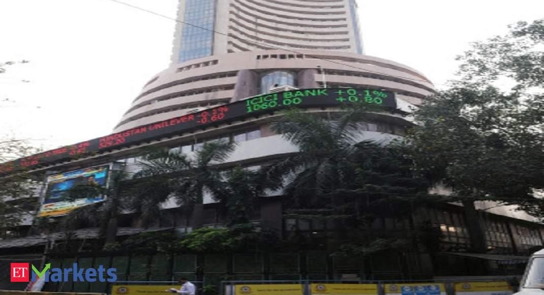 Sensex falls over 300 points as oil gains again, rupee loses 39 paise thumbnail