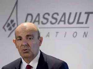 Dassault CEO Eric Trappier rubbishes Rahul Gandhi's charge on Rafale deal