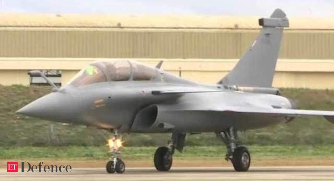 Watch: First look of Rafale fighter jet for IAF