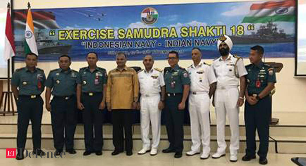 India, Indonesia launch their maiden naval exercise